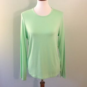 NWT Size L Lime Green Lord and Taylor Top